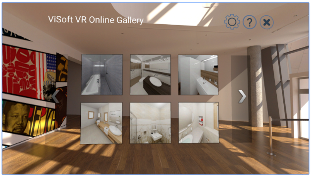 Visoft Virtual Reality screenshot